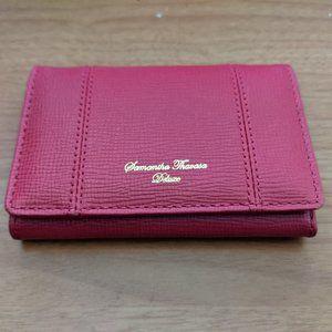Samantha Thavasa Deluxe Card Holder/Wallet***